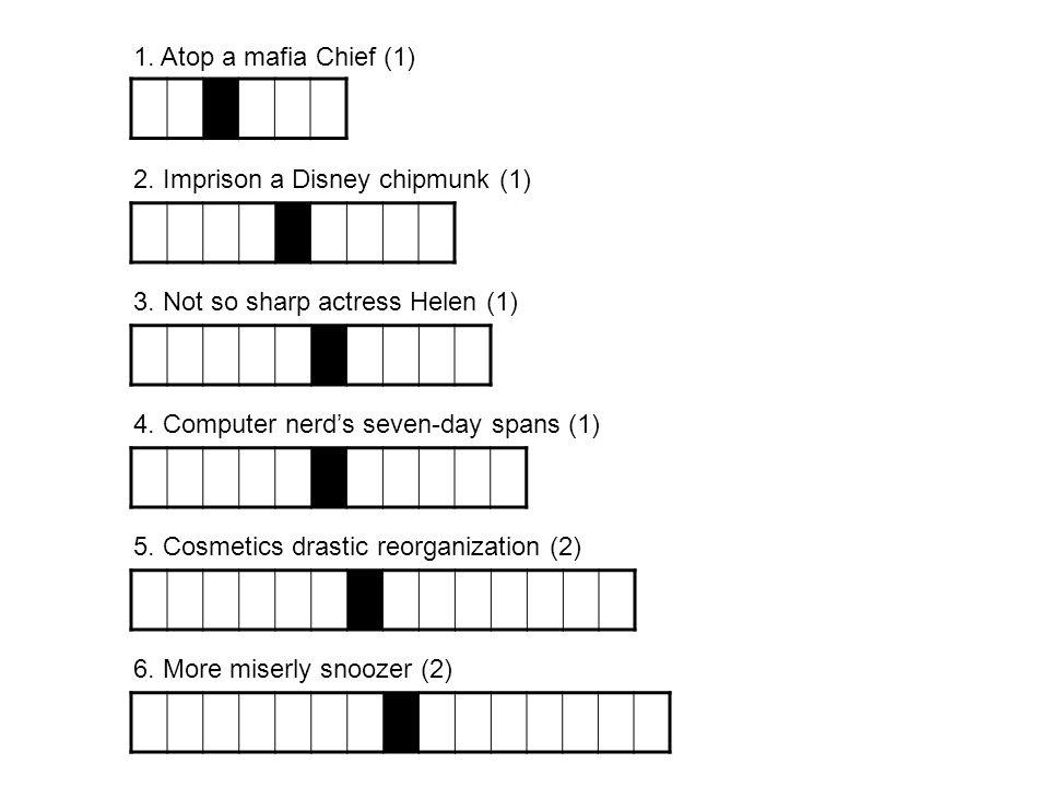 2. Imprison a Disney chipmunk (1)