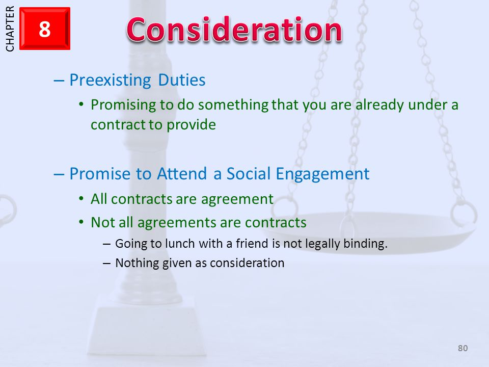 Promise to Attend a Social Engagement