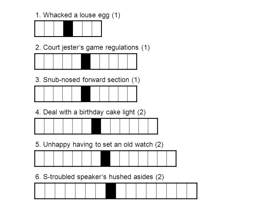2. Court jester's game regulations (1)