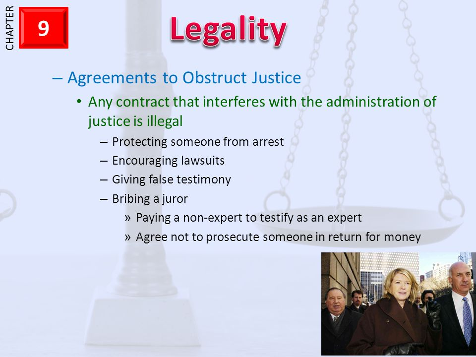 Agreements to Obstruct Justice
