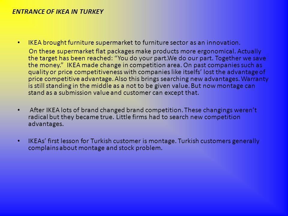 ENTRANCE OF IKEA IN TURKEY