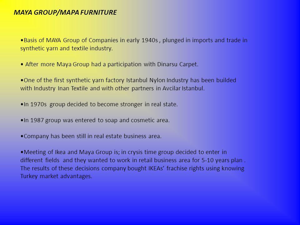 MAYA GROUP/MAPA FURNITURE