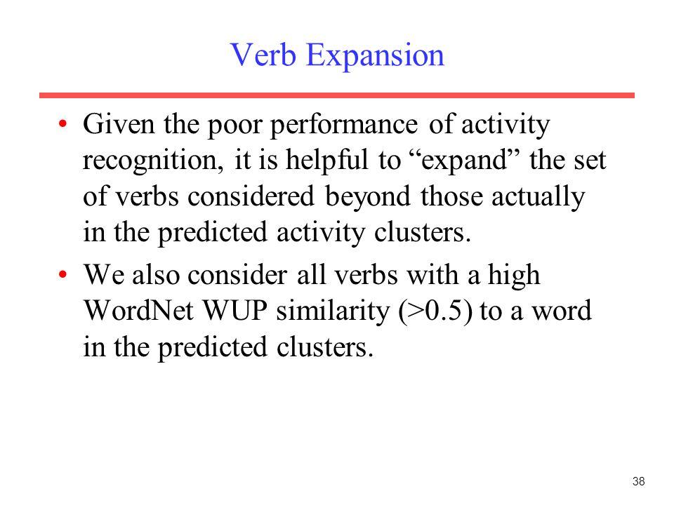 Verb Expansion