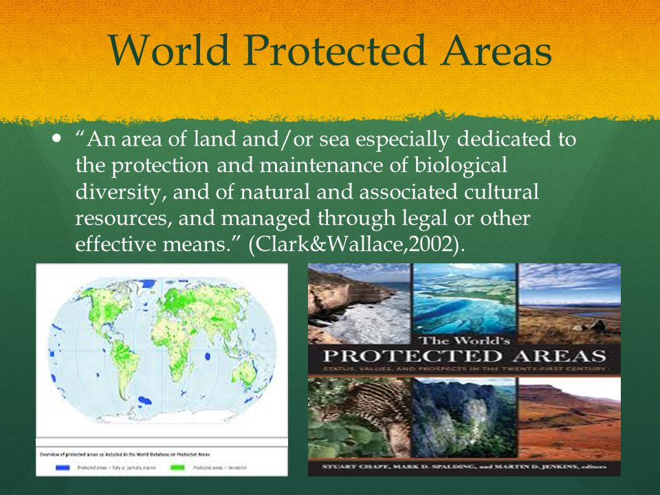World Protected Areas