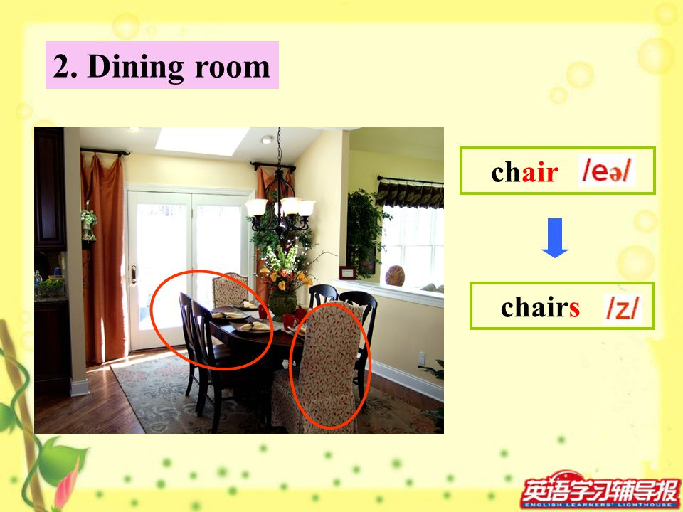2. Dining room chair chairs