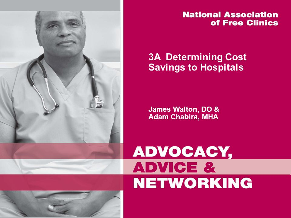 3A Determining Cost Savings to Hospitals