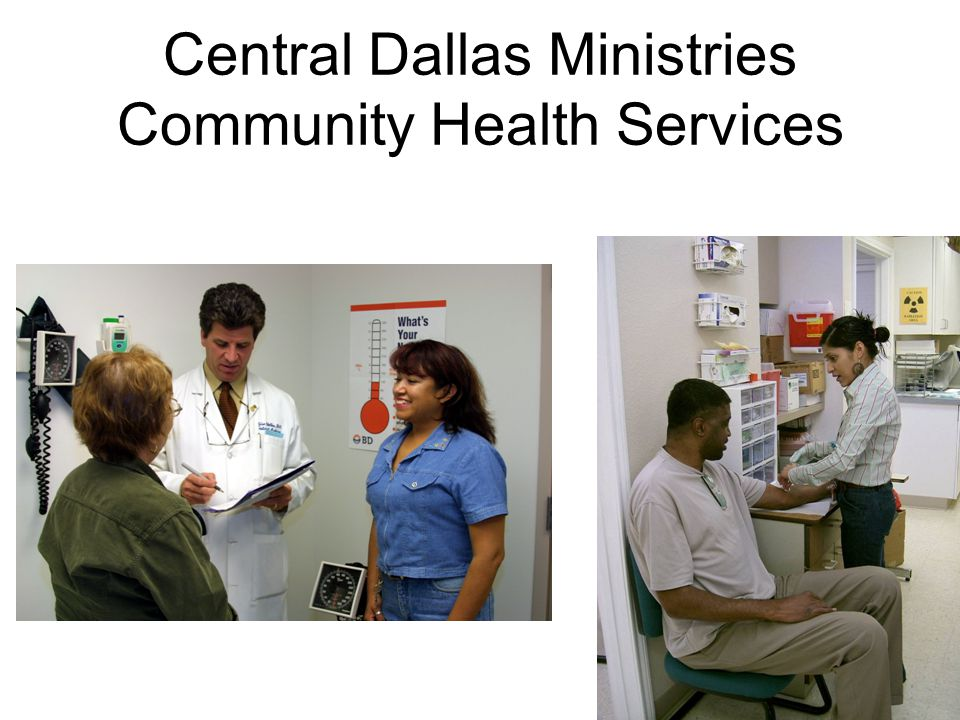 Central Dallas Ministries Community Health Services