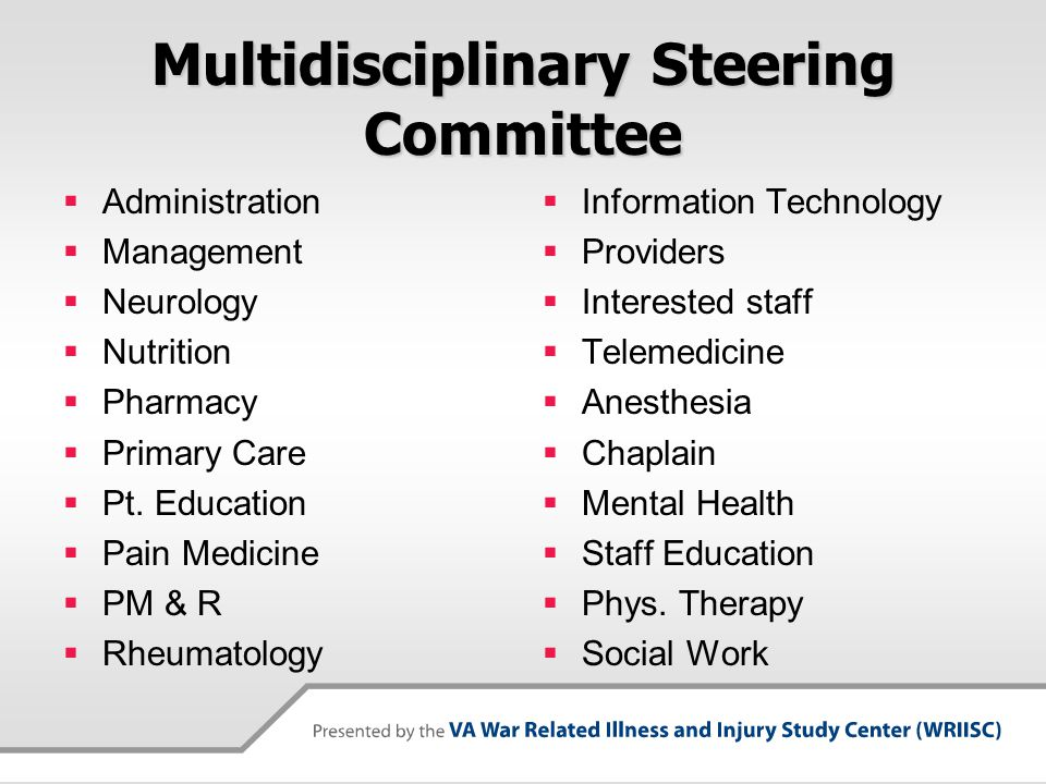 Multidisciplinary Steering Committee