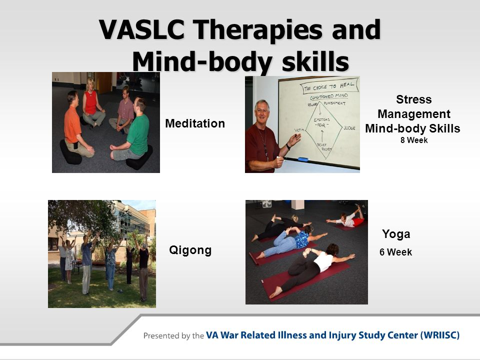 VASLC Therapies and Mind-body skills