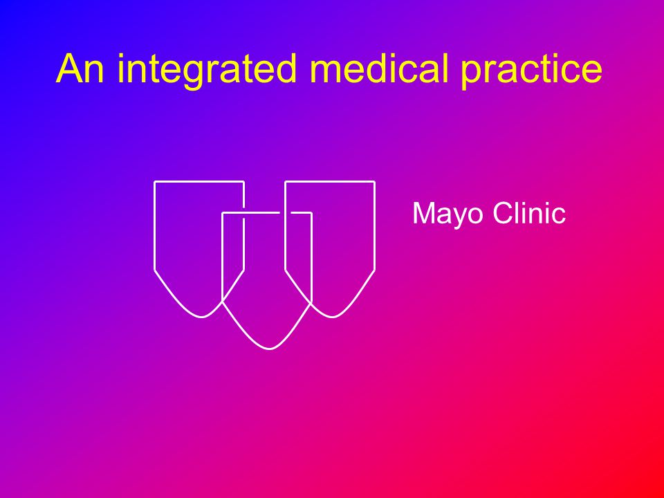 An integrated medical practice
