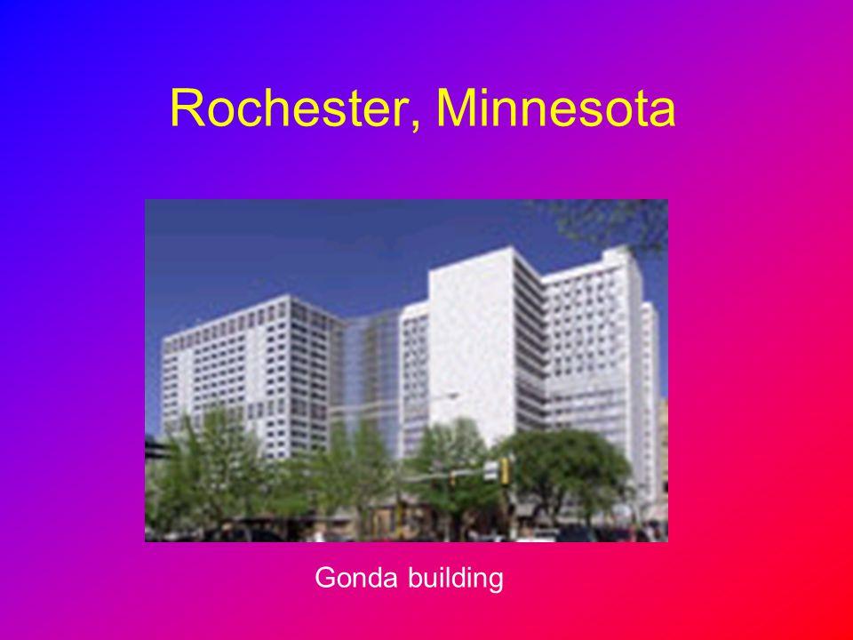 Rochester, Minnesota Gonda building