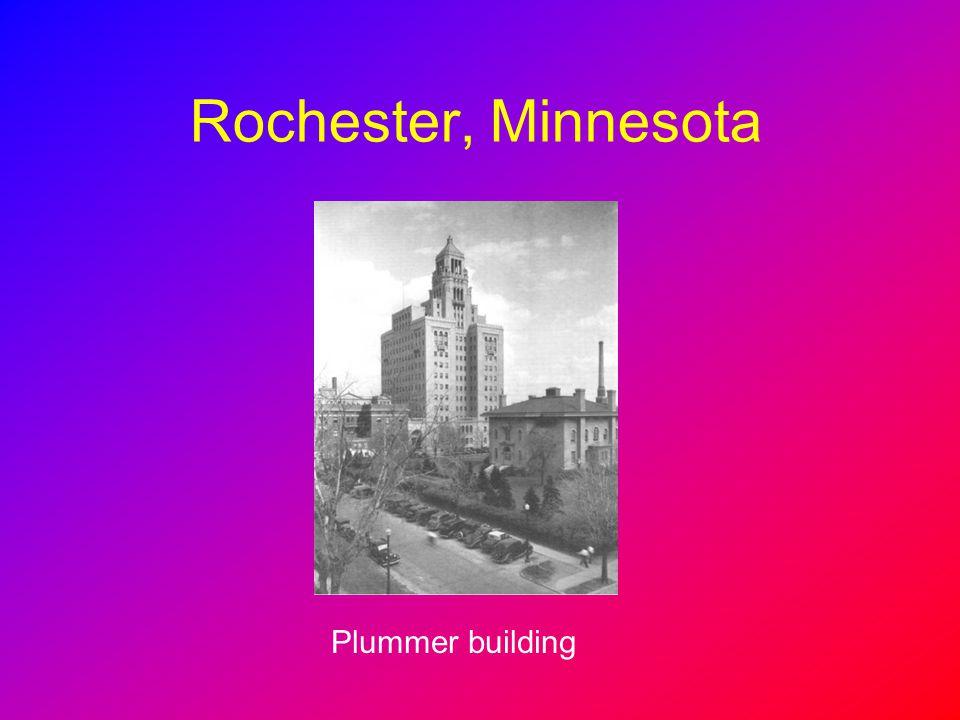 Rochester, Minnesota Plummer building