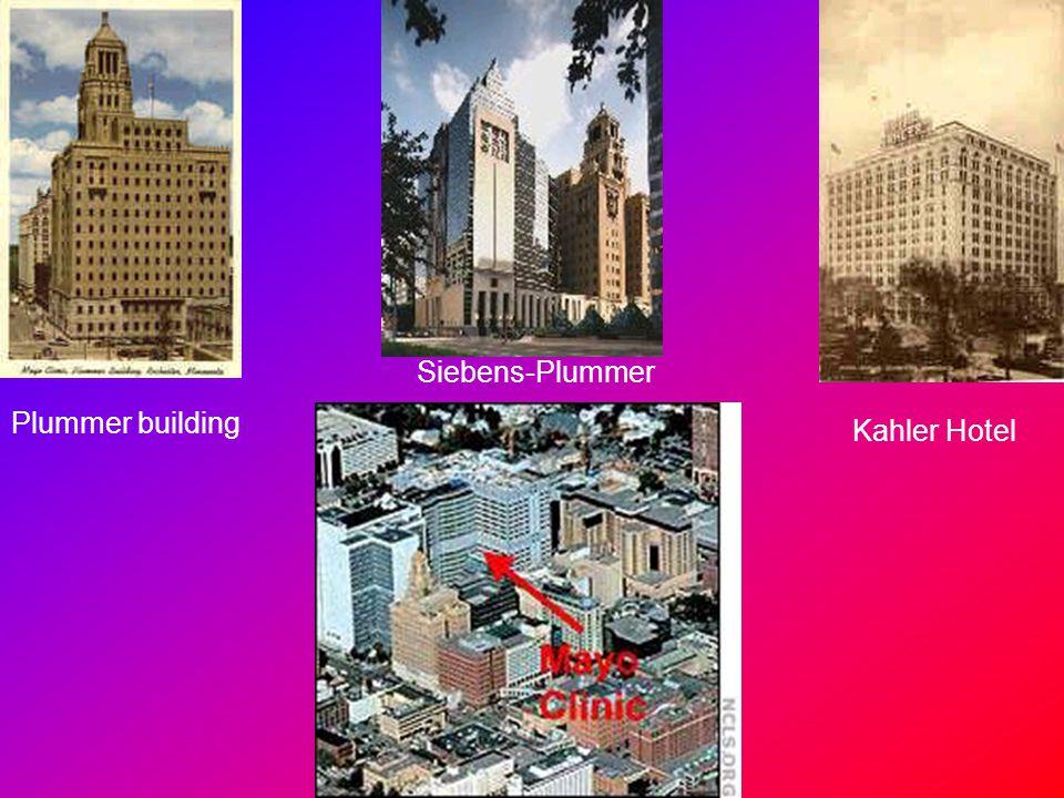 Siebens-Plummer Plummer building Kahler Hotel