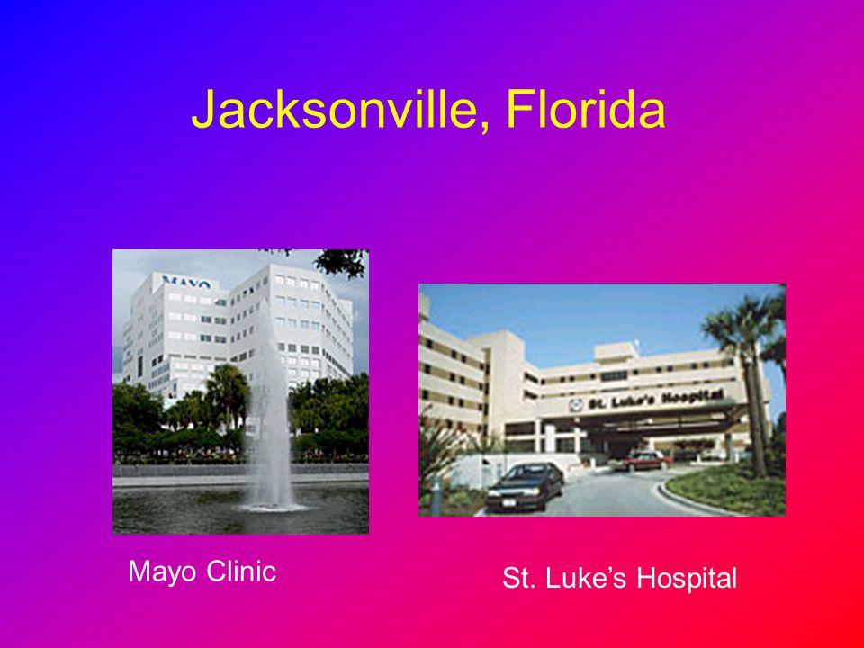 Jacksonville, Florida Mayo Clinic St. Luke's Hospital