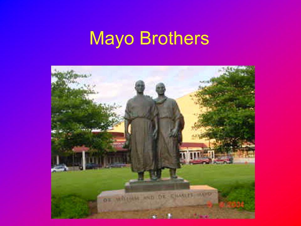 Mayo Brothers