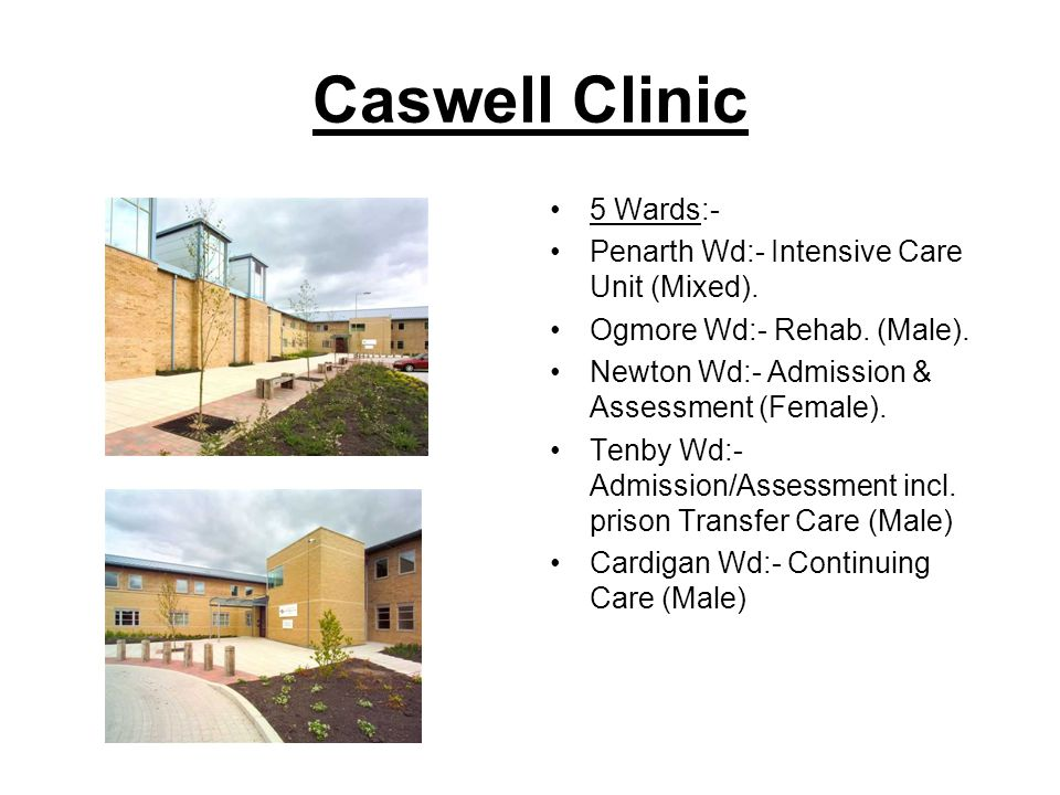 Caswell Clinic 5 Wards:- Penarth Wd:- Intensive Care Unit (Mixed).