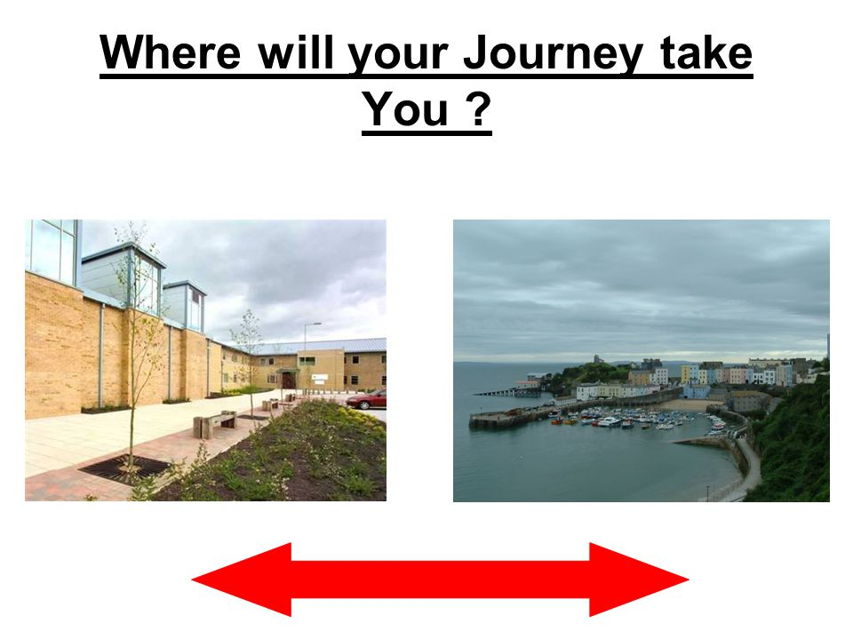 Where will your Journey take You