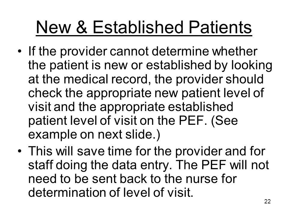 New & Established Patients