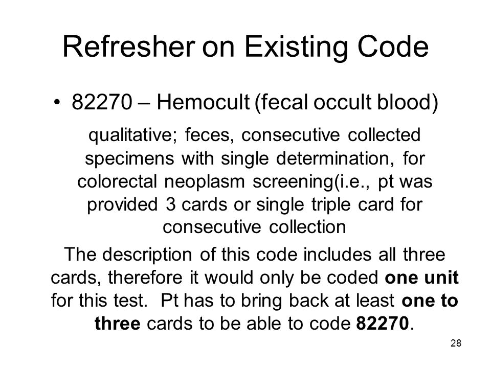 Refresher on Existing Code
