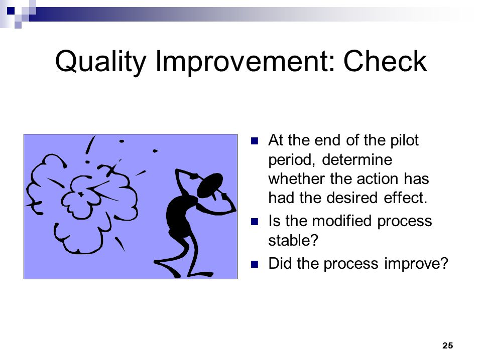 Quality Improvement: Check
