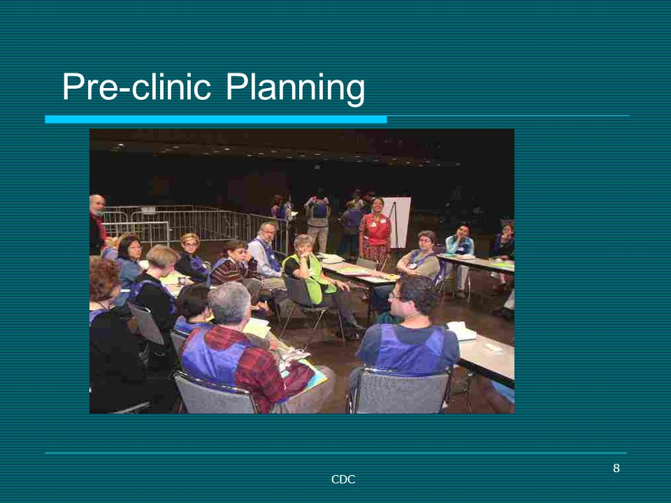 Pre-clinic Planning CDC