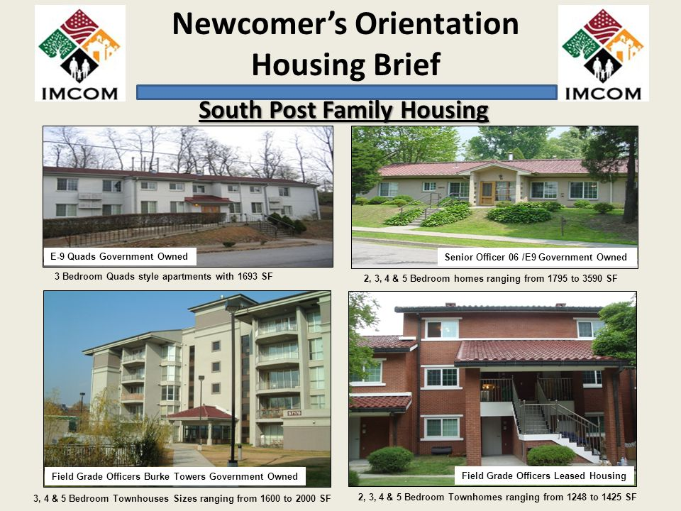 South Post Family Housing