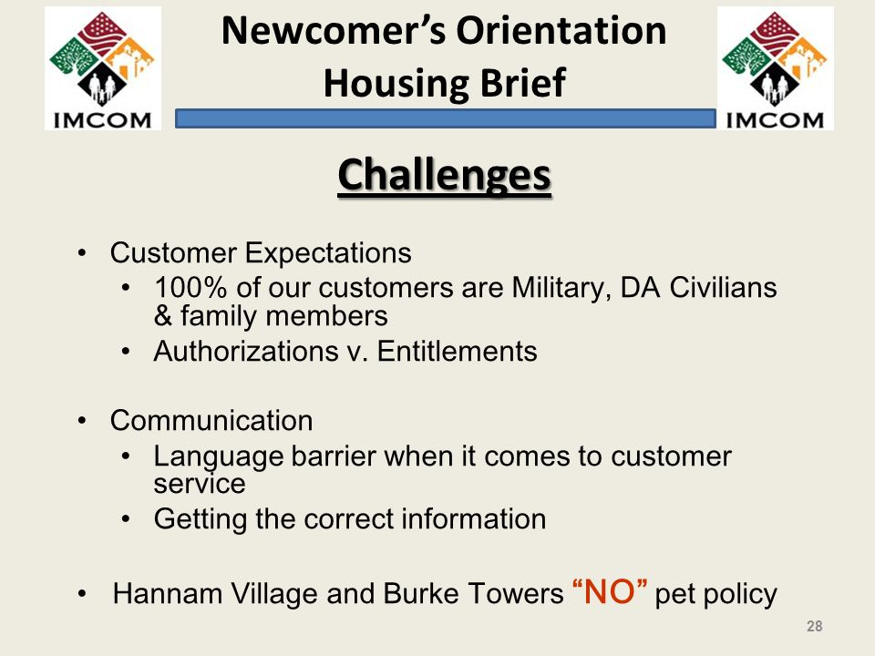 Challenges Customer Expectations