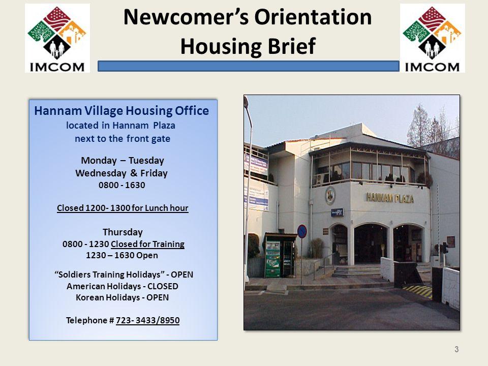 Hannam Village Housing Office