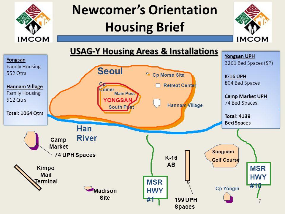 USAG-Y Housing Areas & Installations