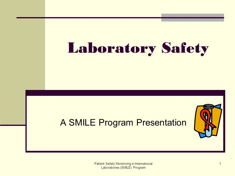 A SMILE Program Presentation