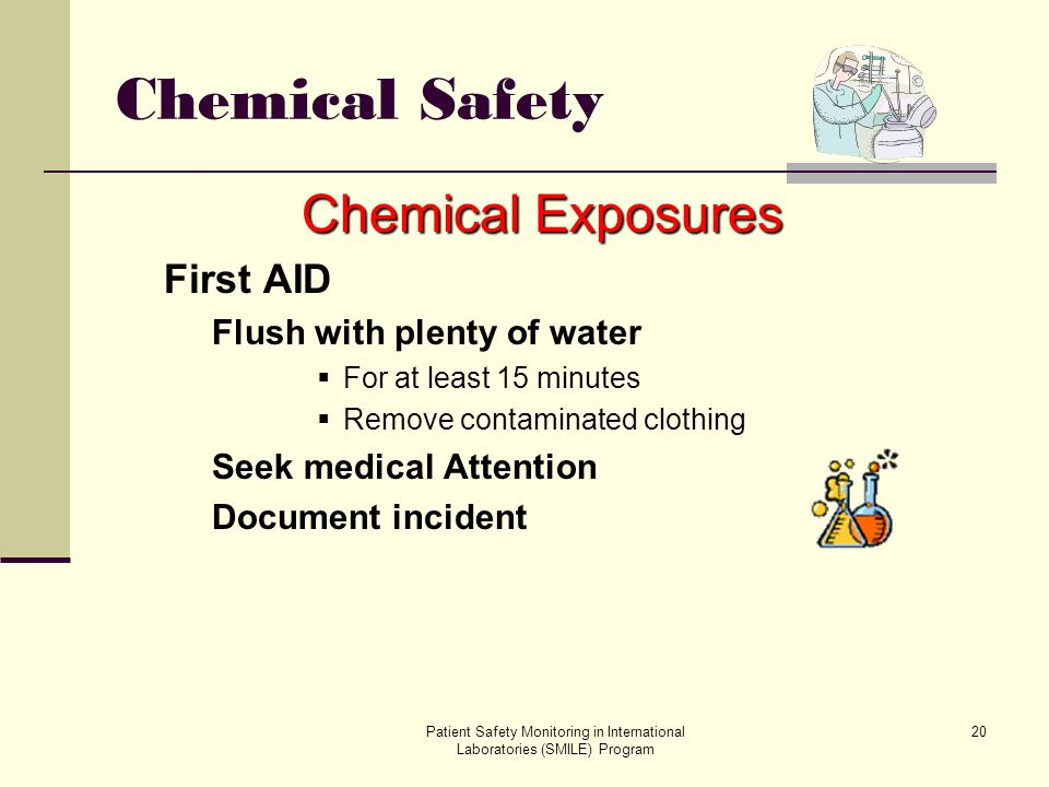 Chemical Safety Chemical Exposures First AID