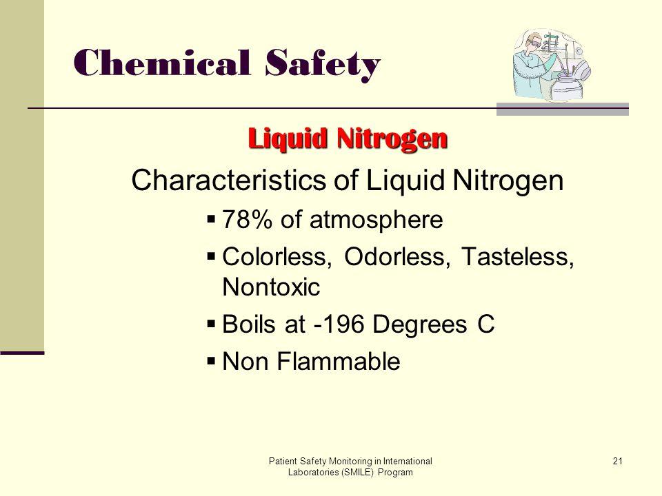Characteristics of Liquid Nitrogen