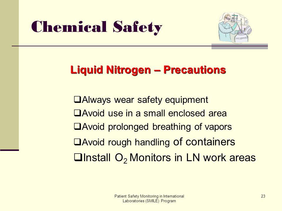 Liquid Nitrogen – Precautions