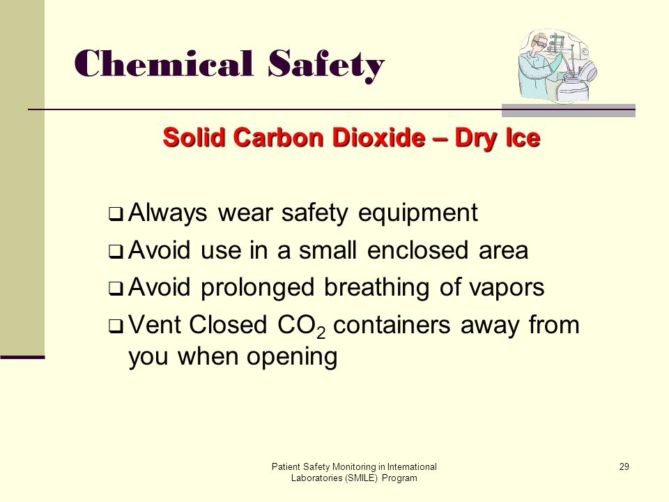 Solid Carbon Dioxide – Dry Ice