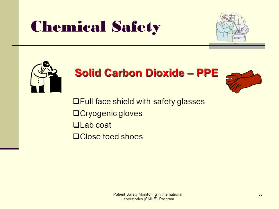 Solid Carbon Dioxide – PPE