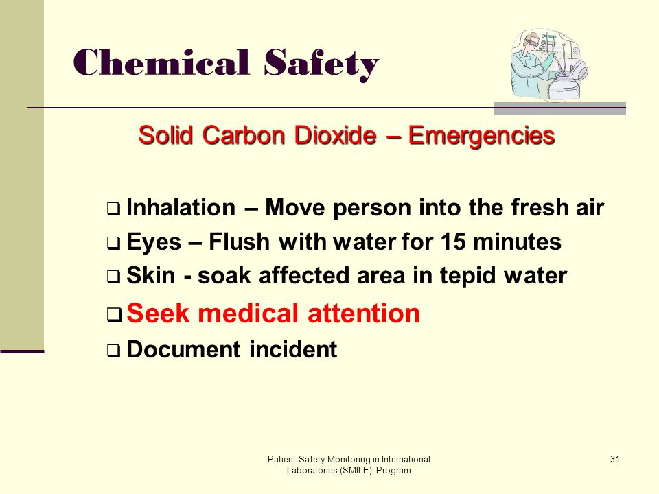 Solid Carbon Dioxide – Emergencies