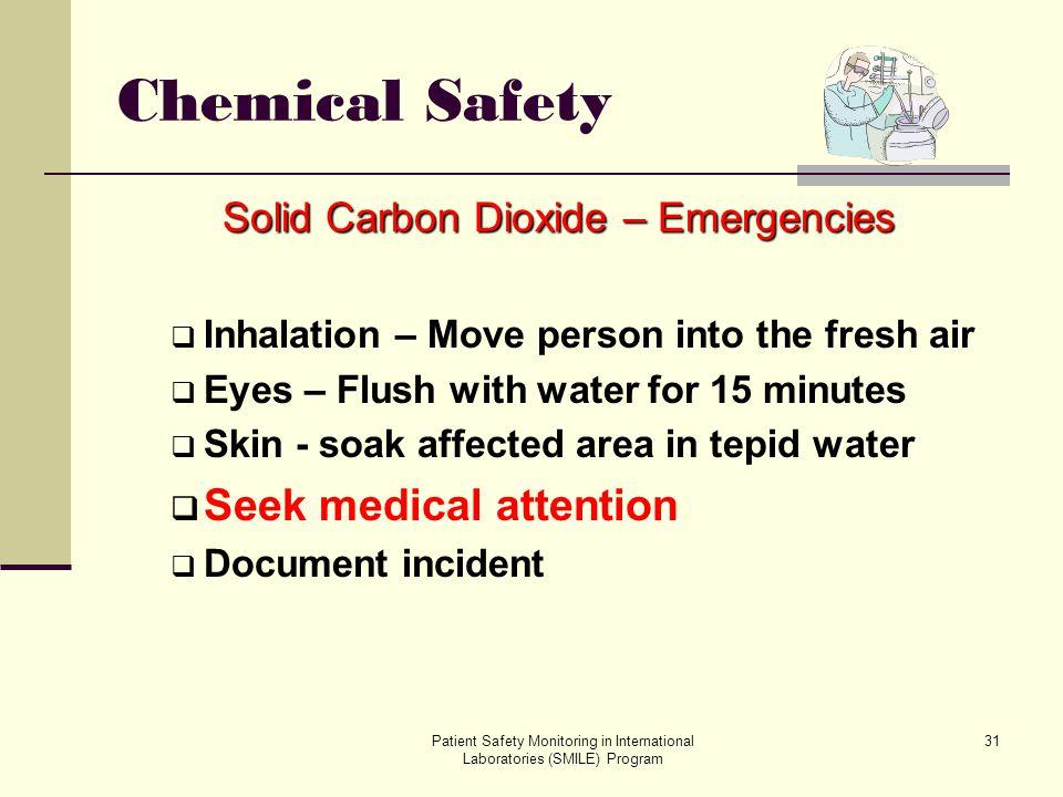 Solid Carbon Dioxide – Emergencies
