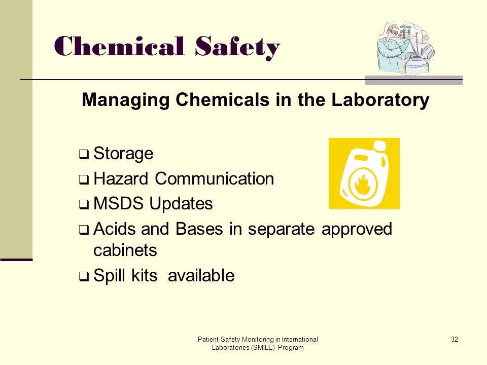 Managing Chemicals in the Laboratory