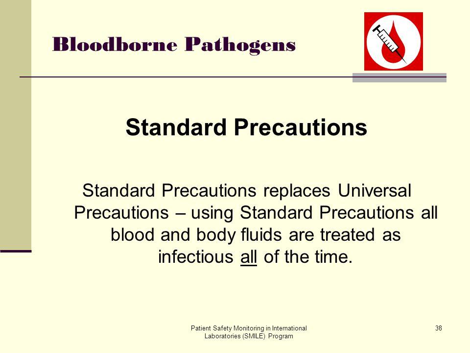 Standard Precautions Bloodborne Pathogens