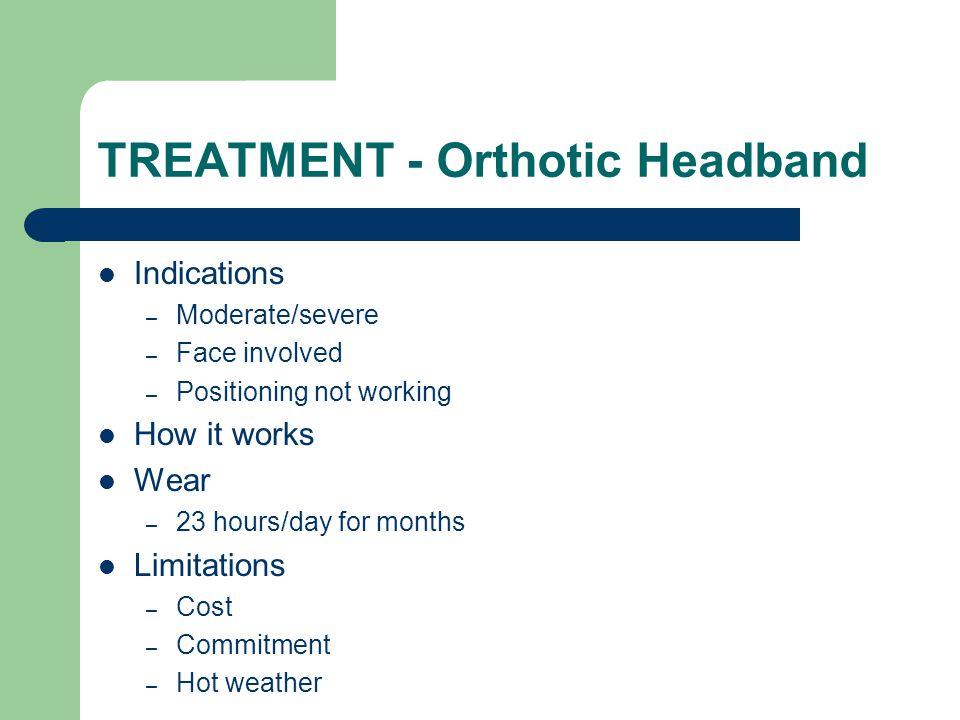 TREATMENT - Orthotic Headband