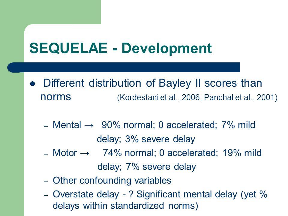 SEQUELAE - Development