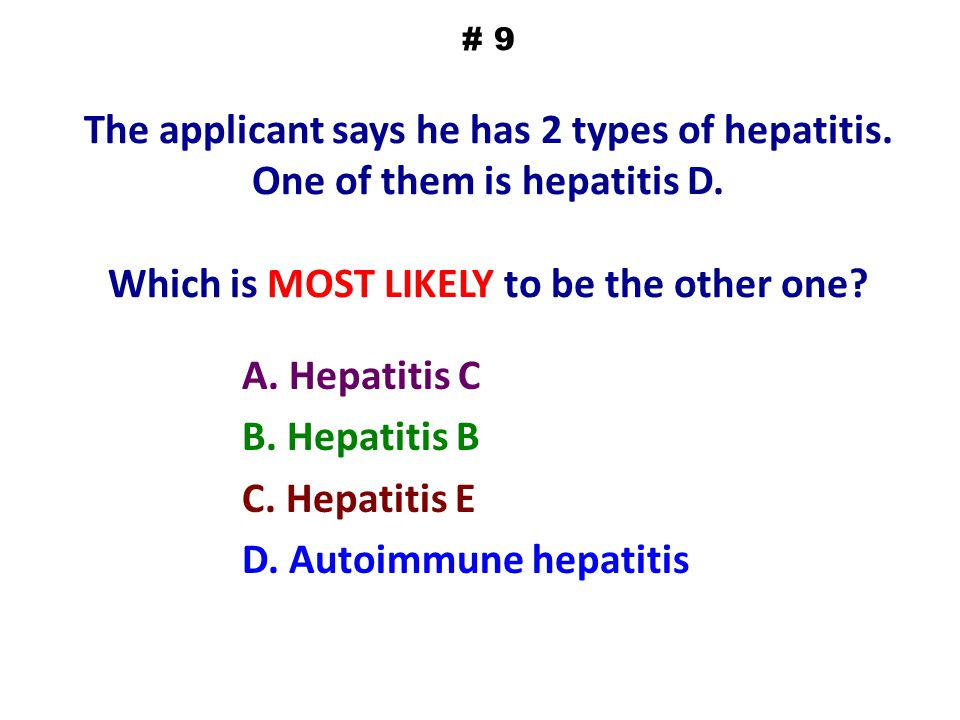 A. Hepatitis C B. Hepatitis B C. Hepatitis E D. Autoimmune hepatitis