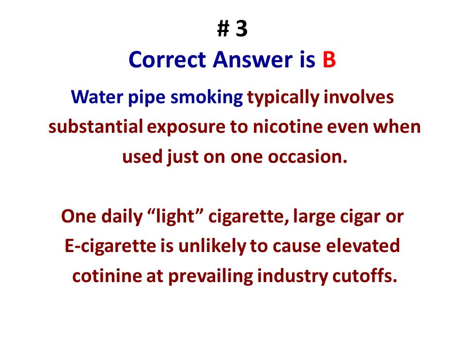 # 3 Correct Answer is B