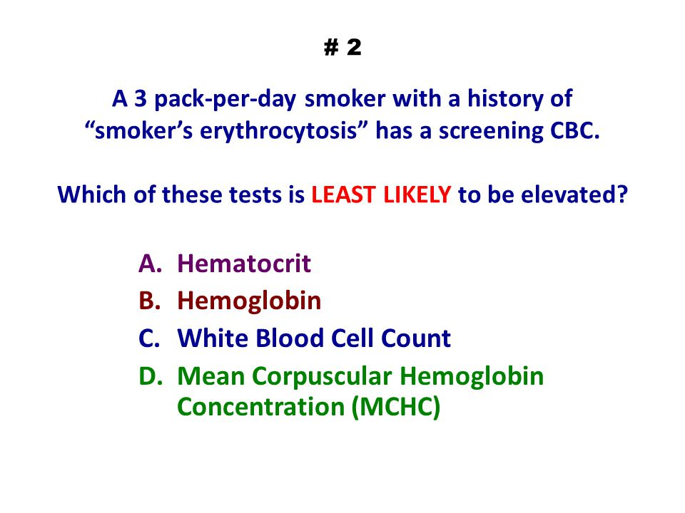 Mean Corpuscular Hemoglobin Concentration (MCHC)