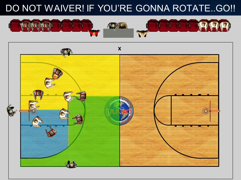 DO NOT WAIVER! IF YOU'RE GONNA ROTATE..GO!!