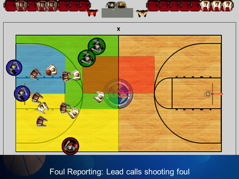Foul Reporting: Lead calls shooting foul