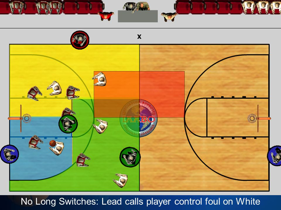 No Long Switches: Lead calls player control foul on White