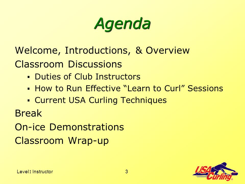 Agenda Welcome, Introductions, & Overview Classroom Discussions Break