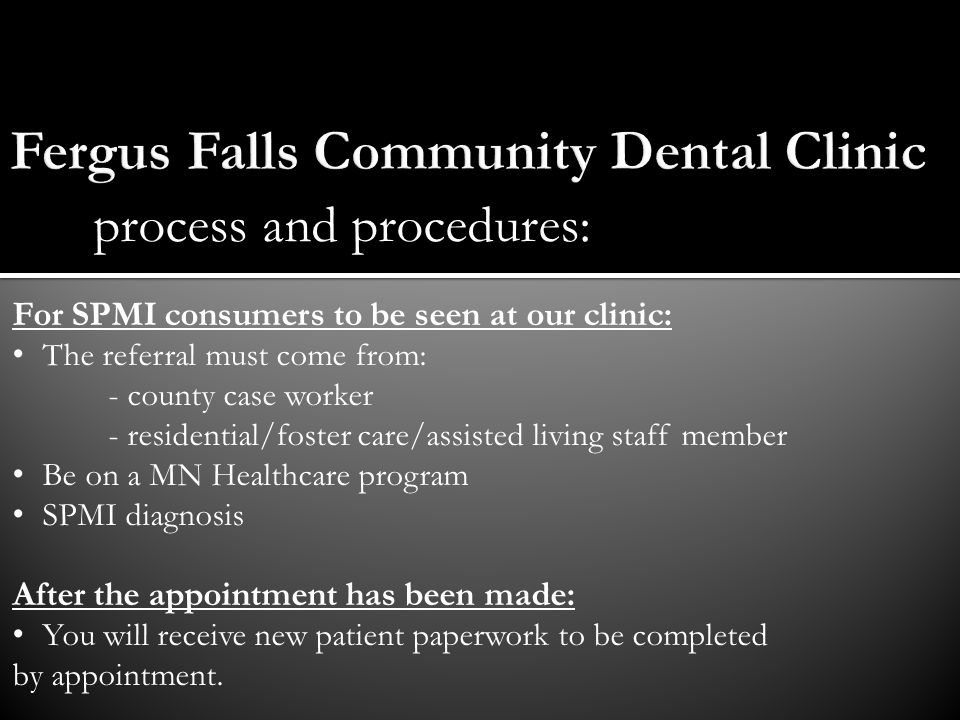 Fergus Falls Community Dental Clinic