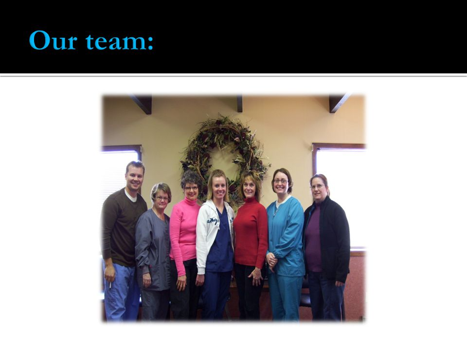 Our team: